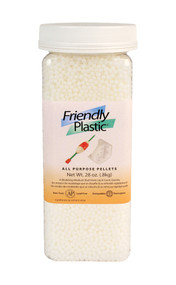 FRIENDLY PLASTIC 28 OZ JAR