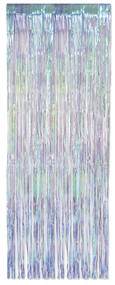 FRINGE CURTAIN IRIDESCENT