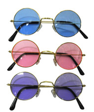 GLASSES WIRE-RIMMED