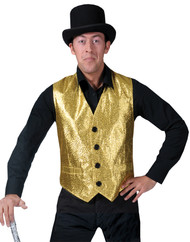 GOLD VEST ADULT SMALL