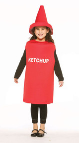 KETCHUP CHILD COSTUME 7-10