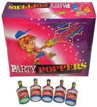 PARTY POPPER PKG OF 72