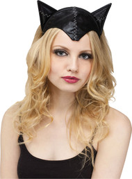 CAT ADULT HEADBAND & TAIL