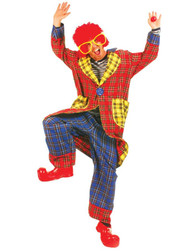 PLAID PICKLES ADULT CLOWN