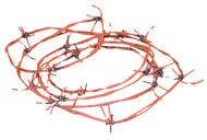 RUSTED BARBED WIRE 100 FT