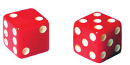SEVEN ELEVEN DICE SET OF 2