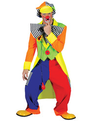 SPANKY STRIPES ADULT CLOWN STD