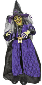 STANDING ANIMATED WITCH 39 IN.