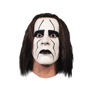 WWE Sting Full Head Latex Mask with Hair - Front