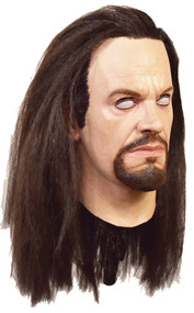 WWE The Undertaker Deluxe Latex Mask with Hair - Right