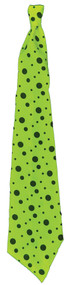 TIE NEON LONG LIME GREEN