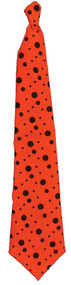 TIE NEON LONG ORANGE
