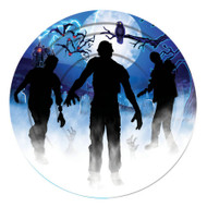 ZOMBIE PARTY PLATE 9IN 8 PCS