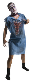 ZOMBIE PATIENT ADULT GOWN