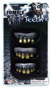 ZOMBIE ROTTED TEETH-3 PACK