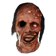 TTBS102 The Mutant Deluxe Latex Halloween Mask with Hair - Front