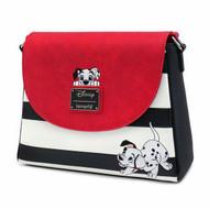 Loungefly WBTB1809 Disney 101 Dalmatians Striped Crossbody Bag