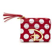 Disney Logo Red/White Cardholder