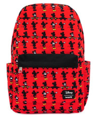 Loungefly WDBK0979 Mickey Parts AOP Backpack - Front