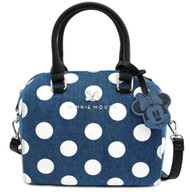 Loungefly WDTB1755 Minnie Mouse Polka Dot Crossbody Bag - Front