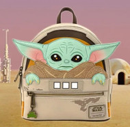 Loungefly STKB0176 Baby Yoda Mini Backpack - Front
