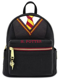 Loungefly HPBK0069 Harry Potter Cosplay Mini Backpack - Front