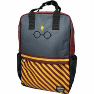 Loungefly HPBK0075 HP Glasses Gryffindor Backpack - Front