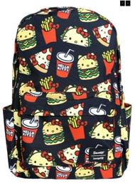 Loungefly SANBK0361 HK Snacks AOP Backpack - Front