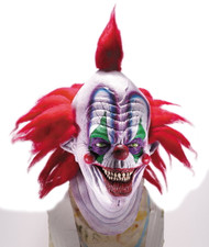 Giggles deluxe large latex mask with hair.