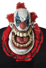 Fatty McClownface Over-Sized Clown Mask with Moving Mouth Open