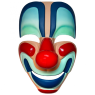 HALLOWEEN - YOUNG MICHAEL MYERS CLOWN MASK