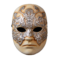 Front view of the Dr. William Hartford mask