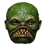 Front view of Fish Ghoulie mask