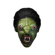 Front view of The Reptile Mask