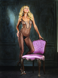 BODYSTOCKING HALTER FISHNET