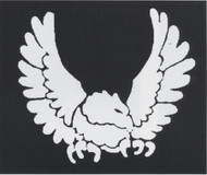 STENCIL EAGLE BRASS