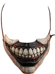 From the award-winning television show, American Horror Story, comes this great Twisty the Clown mouth accessory. The demented Twisty the Clown was without a doubt the most horrific clown to ever be presented on the screen and now it's your chance to become the ultimate Carnival Freak for Halloween. This amazing replica was sculpted by Russ Lukich and has been personally approved by Mike Mekash, the lead special effects designer for American Horror Story Freak Show and John Carroll Lynch, the Actor who played Twisty the Clown. This mask is sure to creep out all of your friends and is perfect for your Twisty costumes. One size fits most.