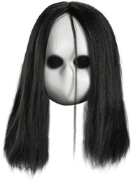 BLANK BLACK EYES DOLL MASK