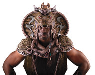 SERPENT LORD HEAD AND SHOULDER
