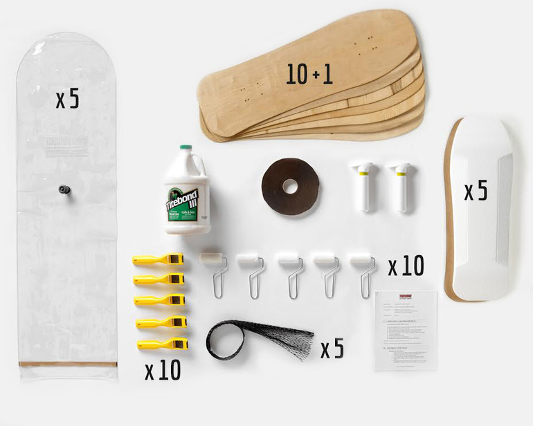 This Multi-Pack provides enough material for a group of 10 students to all build Old School boards