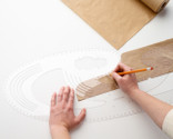 This curved drawing template is HUGE!