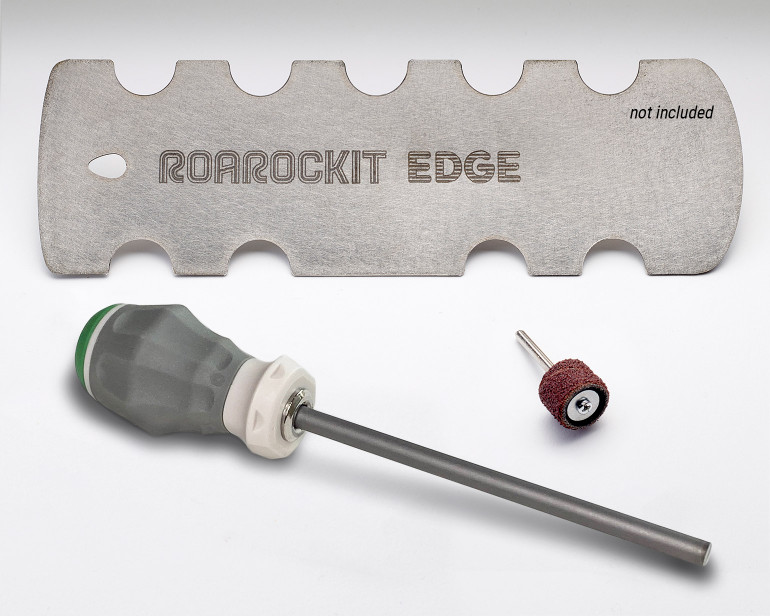 The Burnisher Rod Kit is the perfect companion to keep your Roarockit Profile Scraper sharp for years to come.