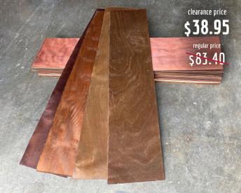 Color Veneer Shlimmer Brown/Mahogany 20-Pack