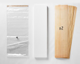 """A 20x70"""" Thin Air Press Bag (no pump), plus two 9-layer sets of maple longboard 12 x 47"""" veneer, and a slab of foam for shaping your custom mold. You can specify either maple or birch, or a mix of both."""