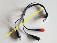 3M DYNATEL 965AMS GROUND STRAP SHORTING LEADS 965AMS-GS-45-RBB 1147 80-6109-3830-2 80610938302