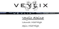 Veylix Alpina Home White Colorway: High-Launch & Mid-Spin Custom Golf Shaft FREE Factory Adapter Tip!!!