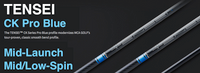 Mitsubishi Tensei CK Pro Blue: Mid-Launch & Low-Spin Custom Golf Shaft FREE Factory Adapter Tip!!!