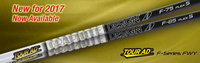Graphite Design Tour AD F-Series (Fairway): High-Launch & Mid-Spin Custom Golf Shaft FREE Factory Adapter Tip!!!