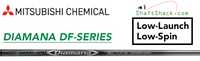 Mitsubishi Diamana DF-Series: Demo Driver Golf Shaft (Low-Launch Low-Spin)