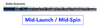Aldila Quaranta Sapphire Mid-Launch & Mid-Spin Custom Golf Shaft FREE Factory Adapter Tip!!!